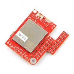 Moduł GSM LTE NB IoT EGPRS GNSS - u-GSM shield v2.19 BG96 - do Arduino i Raspberry Pi - złącze u.FL