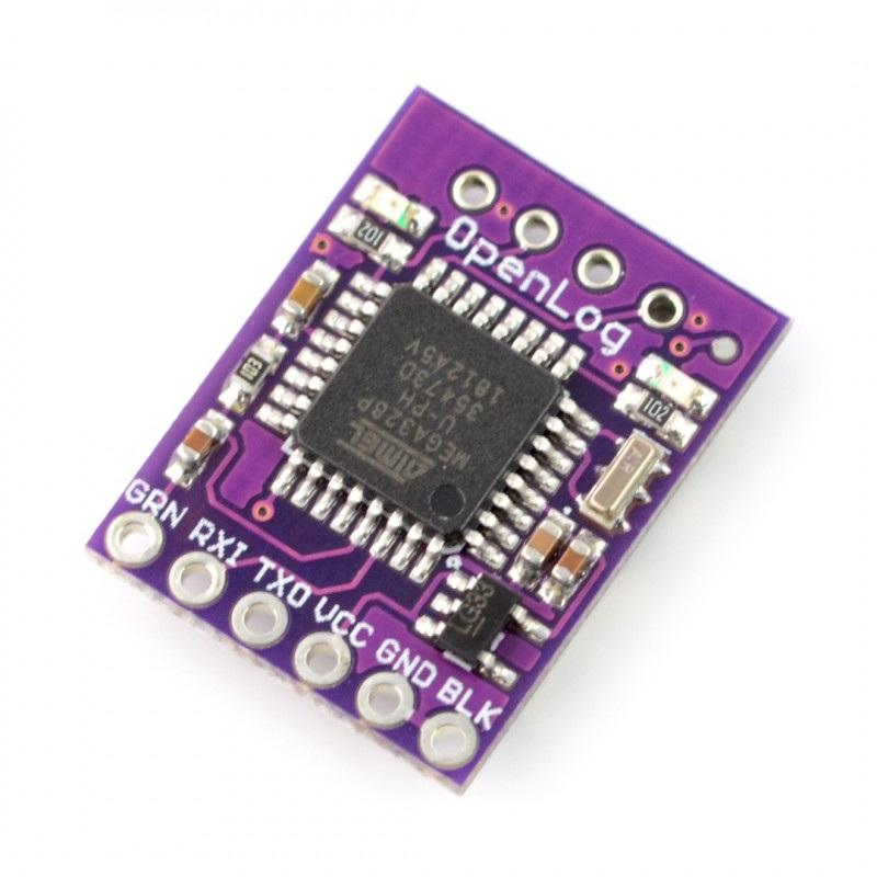 OpenLog - rejestrator danych na karcie microSD