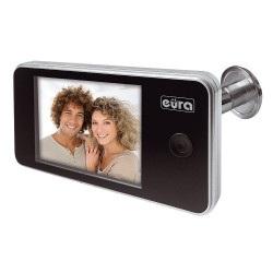 Eura-tech VDP-01C1 Eris LCD 3,2'' - wizjer wideo do drzwi - srebrny