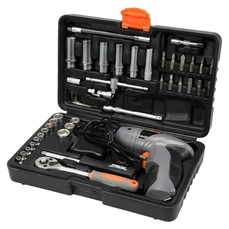 Zestaw narzędziowy Sthor 58645 - 44 części