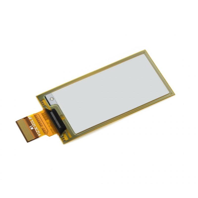 Waveshare E-paper E-Ink (D) 2,13'' 212x104px - moduł z elastycznym wyświetlaczem SPI