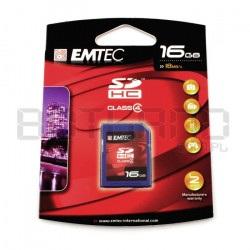 Karta pamięci Emtec SDHC SD 16GB klasa 4