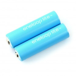 Akumulator Panasonic Eneloop Lite R6 AA  550mAh - 2 szt.