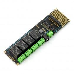 Particle - Relay Shield - moduł z przekaźnikami 4 kanały 7-20V - rozszerzenie dla Particle
