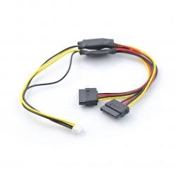 ROCKPro64 - przewód zasilający do napędów podwójnych SATA