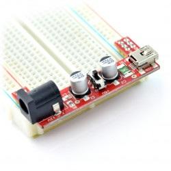 Moduł zasilający do płytek stykowych MB102 - 3,3V/5V - moduł Iduino