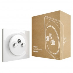 Fibaro Walli N TV-SAT Outlet FGWTFEU-021 - gniazdo TV-SAT