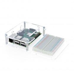 Obudowa Raspberry Pi Model 3B+/3B/2B z miejscem na płytkę