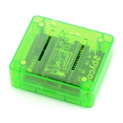 Pycase Green - obudowa do modułu WiPy oraz Expansion Board - zielona