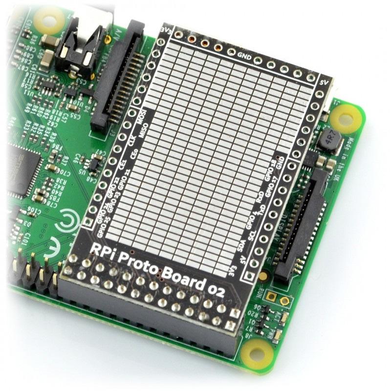 Płytka prototypowa SMD - Raspberry Pi