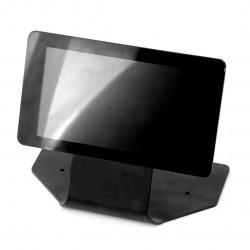 """Obudowa do Raspberry Pi, dedykowanego ekranu 7"""" - metalowa czarna"""