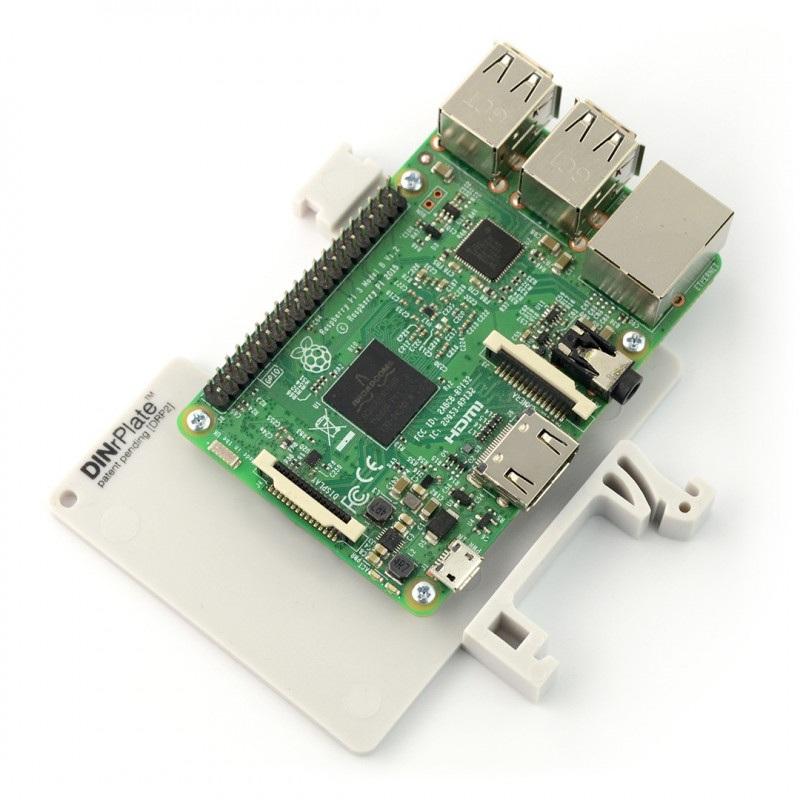 DRP2 - mocowanie do szyny DIN dla Raspberry Pi 3
