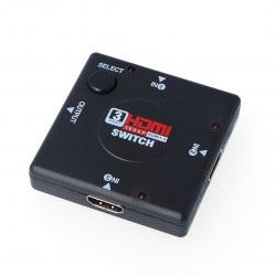 Switch HDMI 1.3b 1080p - 3 wejścia