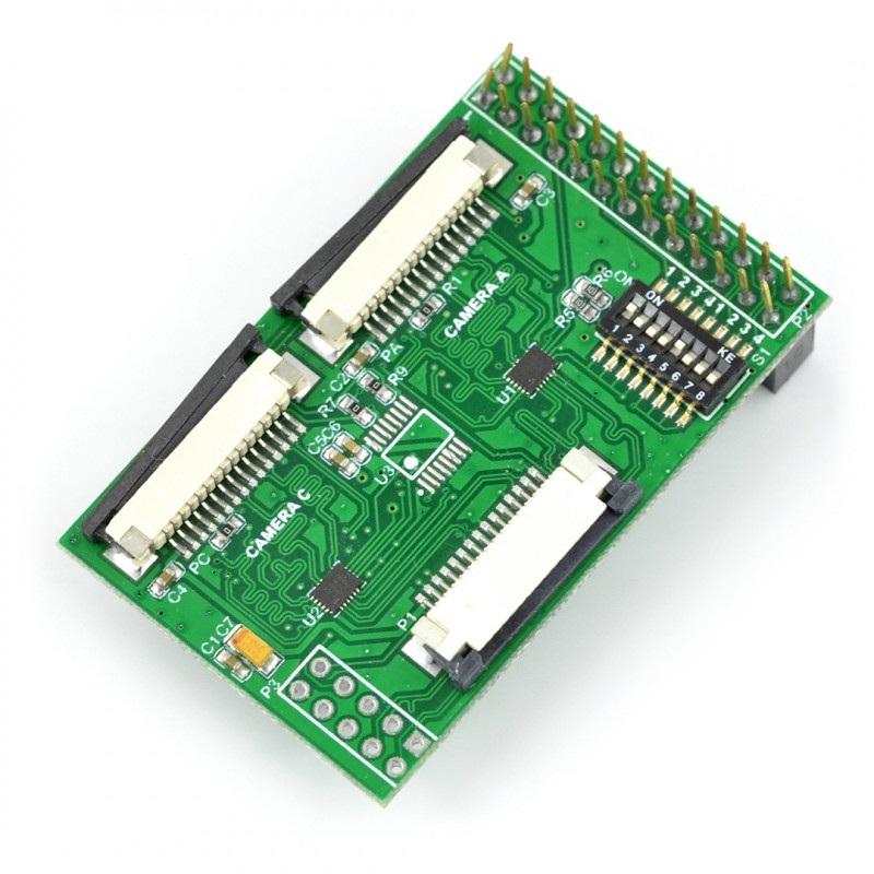 Multi Camera adapter - hub dla kamer do Raspberry Pi