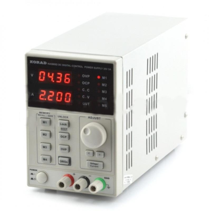 Zasilacz laboratoryjny Korad KA3005D 0-30V 5A