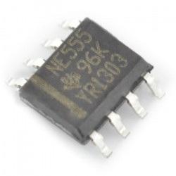 Uniwersalny układ czasowy NE555 - SMD