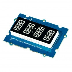 Grove - 0.54'' Red Quad Alphanumeric Display