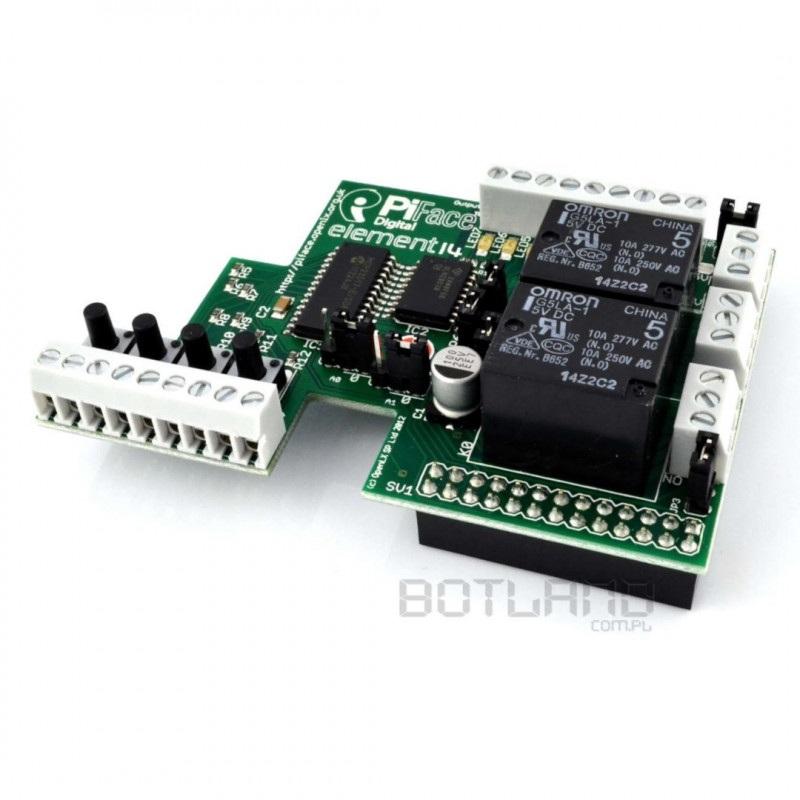PiFace - rozszerzenie do Raspberry Pi