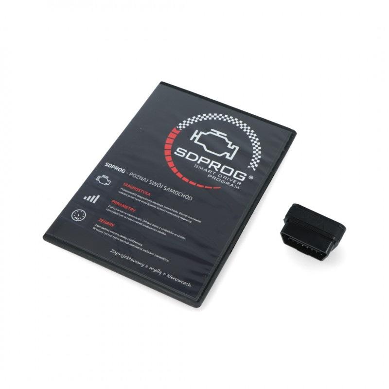Zestaw diagnostyczny SDPROG + VGate iCar 2 WiFi