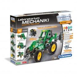Zestaw konstrukcyjny Laboratorium Mechaniki - Maszyny rolnicze - Clementoni 60591