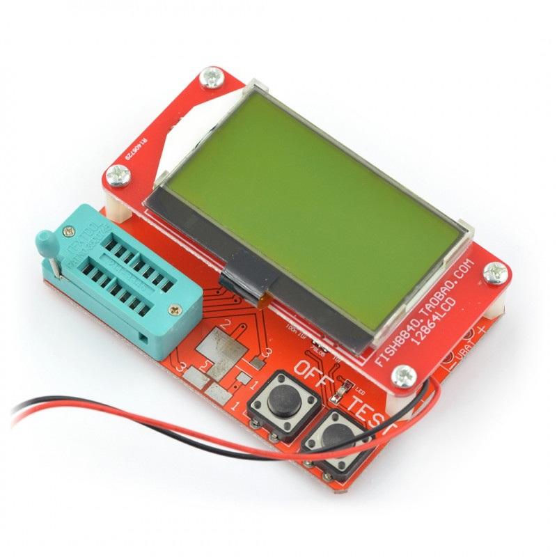 Zestaw do testowania, tester elementów elektronicznych - BTE-057