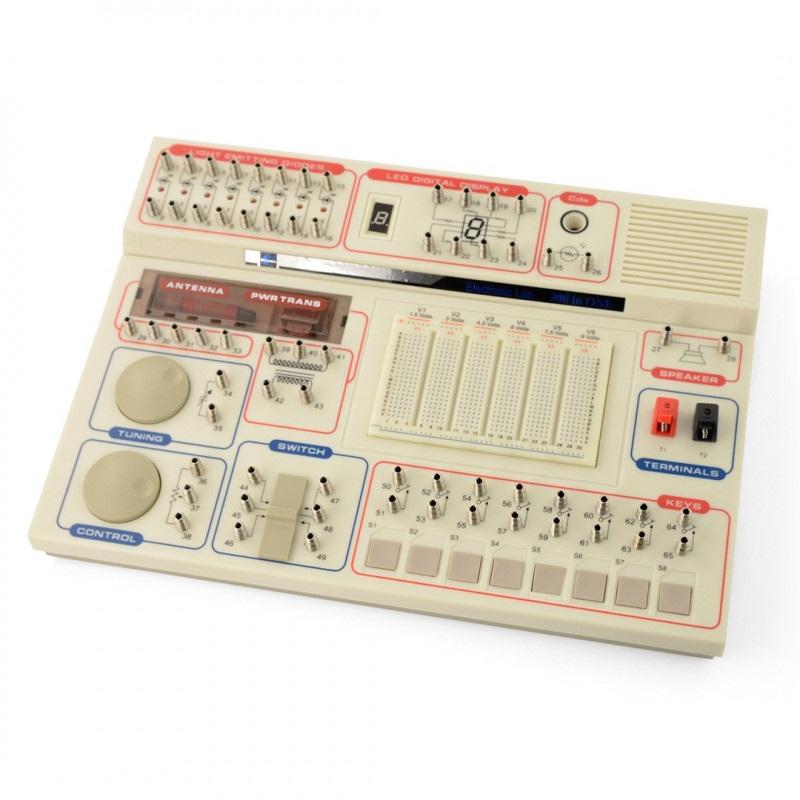 Elektroniczny zestaw laboratoryjny - 300 w 1