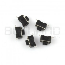 Tact Switch 3x6 5mm SMD - 5szt
