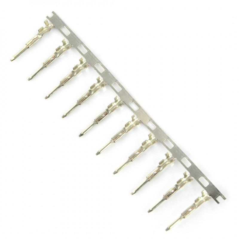 Pin męski do obudowy gniazda raster 2,50mm 10szt.