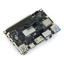 Khadas Edge-V Max - Rockchip RK3399 Cortex A72/A53 + 4GB RAM/128GB eMMC