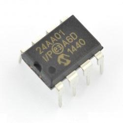 24AA01-I/P - pamięć EEPROM 1kb
