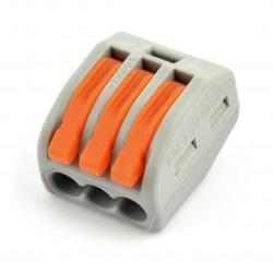 Kostka elektryczna typu WAGO 3pin 32A/400V