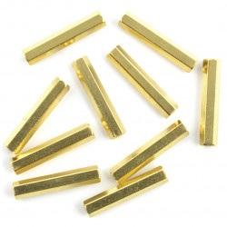 Tuleja dystansowa mosiężna - 25mm - 10szt.