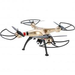 Dron quadrocopter Syma X8HW 2.4GHz z kamerą - 50cm - złoty