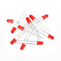 Dioda LED 3mm czerwona -...