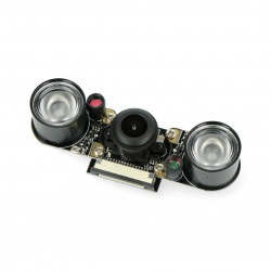 Kamera rybie oko 5 Mpx Pi Supply Night Vision dla Raspberry  Pi