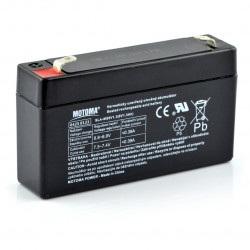 Akumulator żelowy 6V 1,3Ah Motoma