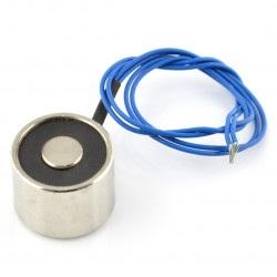 Elektromagnes trzymający 12V 2,5W 2kgf