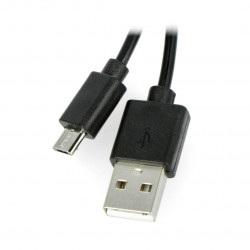 Przewód USB A - microUSB Blow - 1,5 m