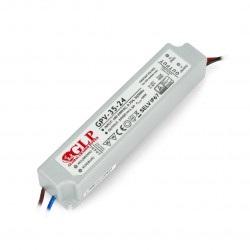 Zasilacz do taśm i pasków LED wodoodporny - GPV-35-24 24V/1,5A/36W