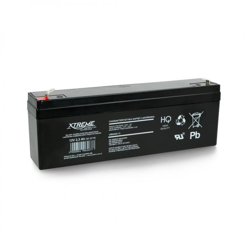 Akumulator żelowy 12V 2,3 Ah ST