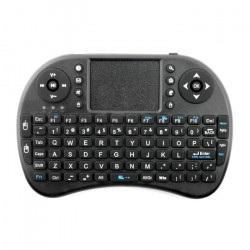 Klawiatura bezprzewodowa + touchpad Mini Key - czarna - AAA