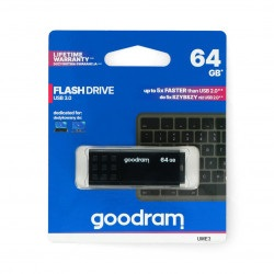 GoodRam Flash Drive - pamięć USB 3.0 Pendrive - UME3 czarny 64GB