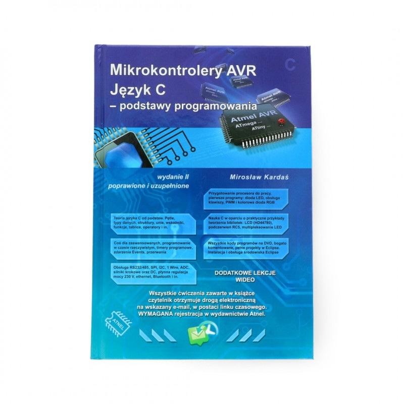 Mikrokontrolery Avr Jezyk C Podstawy Botland Sklep Dla Robotykow