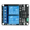 Moduł przekaźników Iduino 2 kanały z optoizolacją - styki 10A/250VAC - cewka 5V - zdjęcie 3