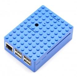 Pi-Blox - obudowa Raspberry Pi Model 3/2/B+ - niebieska