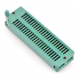 Podstawka testowa ZIF 48pin raster 15,24mm