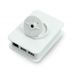 Obudowa do kamery i Raspberry Pi Model 3/2/B+ - jasnoszara