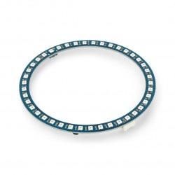 Grove - pierścień LED RGB WS2813 x 42 diod - 59mm - Seeedstudio 104020173