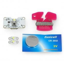Zestaw Electro-Fashion z trzema modułami diod LED