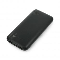 Mobilna bateria Powerbank Extreme Style Ampere AEPB10-C2U 10000mAh - czarna